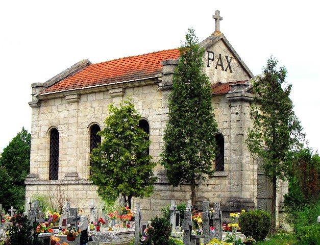 Horyniec mauzoleum z 2006 r