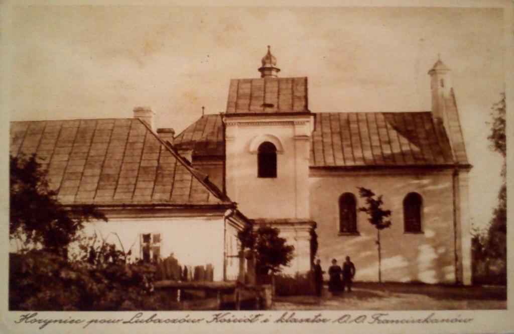 pocztowka klasztor franciszkanie