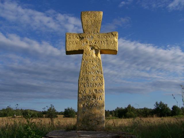 krzyż pańszczyżniany rudka