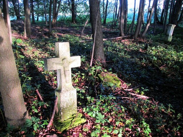 krzywe cmentarz