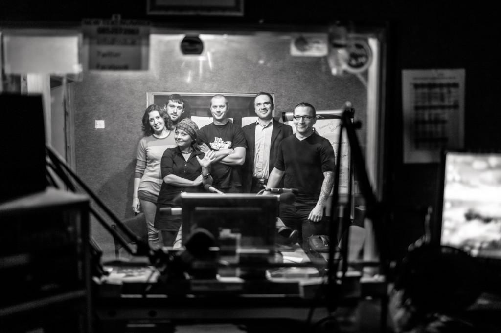 Promocja Folkowiska w irlandzkim radiu