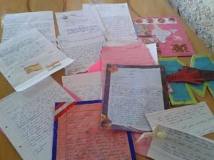 Listy, które dotarły do dzieci z Indii